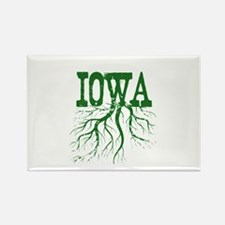Iowa Roots Rectangle Magnet