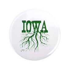 """Iowa Roots 3.5"""" Button (100 pack)"""