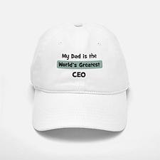 Worlds Greatest CEO Baseball Baseball Cap
