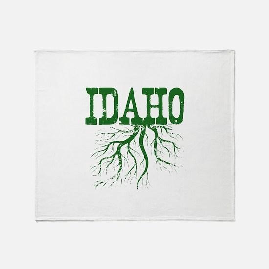 Idaho Roots Throw Blanket