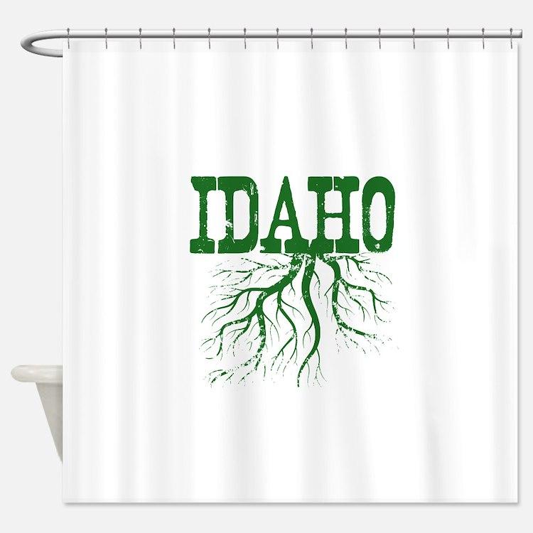 Idaho Roots Shower Curtain