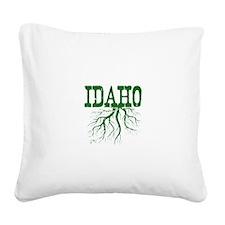 Idaho Roots Square Canvas Pillow