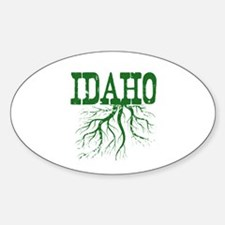 Idaho Roots Sticker (Oval)