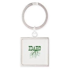 Idaho Roots Square Keychain