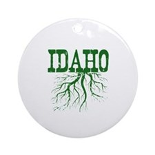 Idaho Roots Ornament (Round)