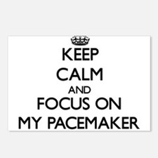Keep Calm and focus on My Postcards (Package of 8)