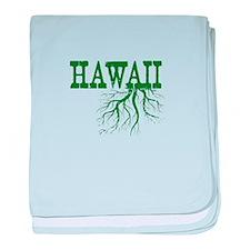 Hawaii Roots baby blanket
