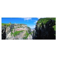 Mizen Head, Ivagha Peninsula, Co Cork, Ireland Framed Print