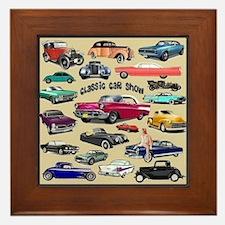Car Show Framed Tile