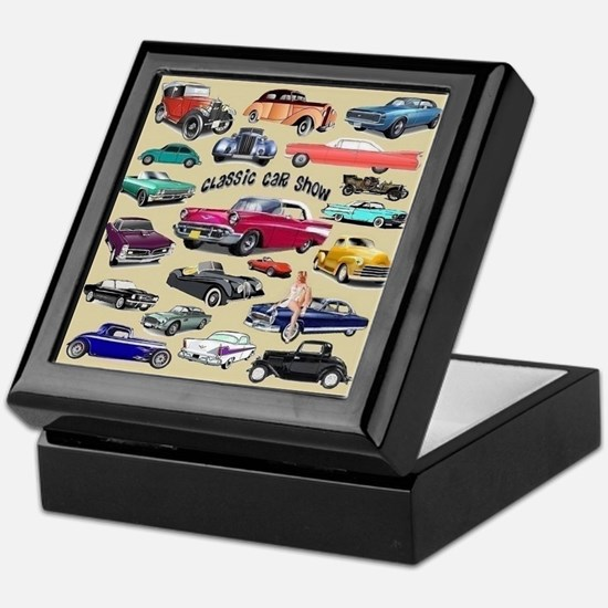 Car Show Keepsake Box