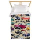 Classic car Luxe Twin Duvet Cover