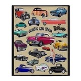 Classic car Fleece Blankets