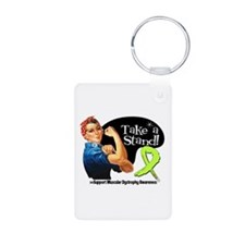 Muscular Dystrophy Stand Keychains