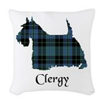 Terrier - Clergy Woven Throw Pillow