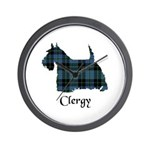 Terrier - Clergy Wall Clock