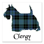 Terrier - Clergy Square Car Magnet 3
