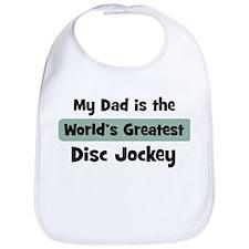 Worlds Greatest Disc Jockey Bib