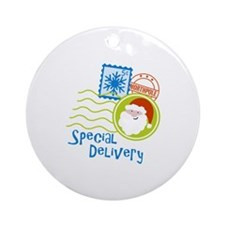 Special Delivery Ornament (Round)