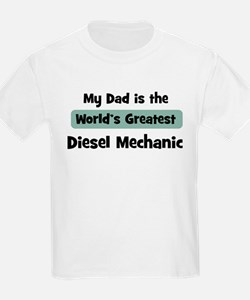 Worlds Greatest Diesel Mechan T-Shirt