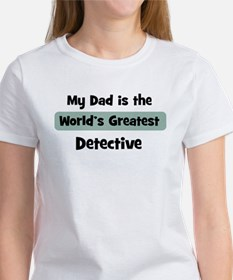 Worlds Greatest Detective Women's T-Shirt