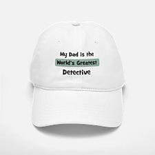 Worlds Greatest Detective Baseball Baseball Cap