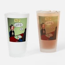 Dracula Life Insurance Drinking Glass
