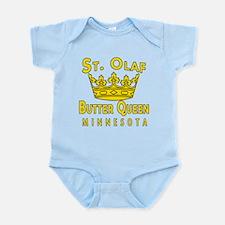 St Olaf Butter Queen Infant Bodysuit