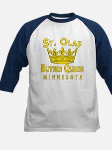 St Olaf Butter Queen Kids Baseball Jersey