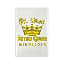 St Olaf Butter Queen Rectangle Magnet