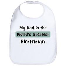 Worlds Greatest Electrician Bib