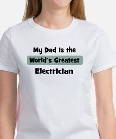 Worlds Greatest Electrician Tee
