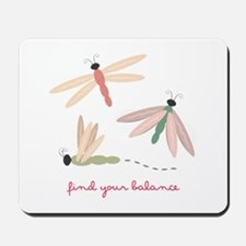 Dragonfly Balance Mousepad