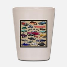 Car Show Shot Glass
