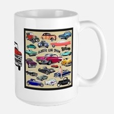 Car Show Large Mug Mugs