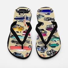 Car Show Flip Flops