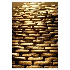 Detail Of Cobblestones, Dublin, Ireland Canvas Art