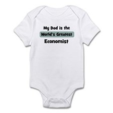 Worlds Greatest Economist Infant Bodysuit