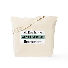 Worlds Greatest Economist Tote Bag