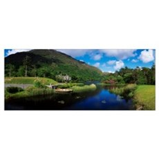 Kylemore Abbey, Co Galway, Ireland Canvas Art