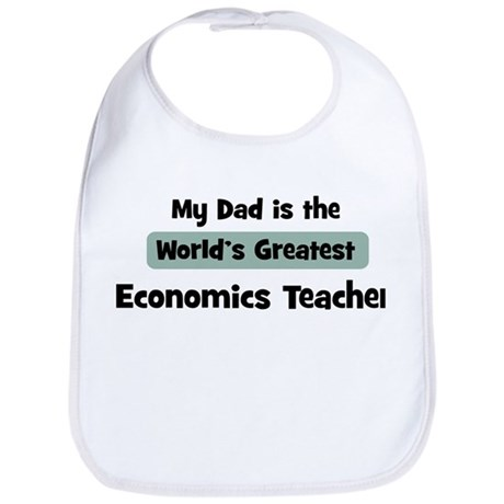 Worlds Greatest Economics Tea Bib