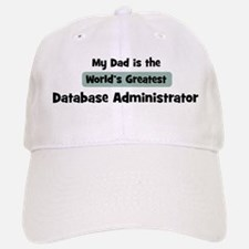 Worlds Greatest Database Admi Baseball Baseball Cap