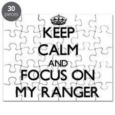 Keep Calm and focus on My Ranger Puzzle
