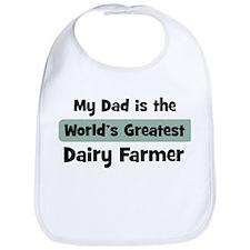 Worlds Greatest Dairy Farmer Bib