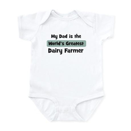 Worlds Greatest Dairy Farmer Infant Bodysuit