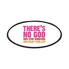 there's no god Patches