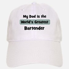 Worlds Greatest Bartender Baseball Baseball Cap
