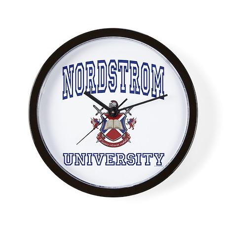 NORDSTROM University Wall Clock