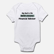 Worlds Greatest Financial Adv Infant Bodysuit