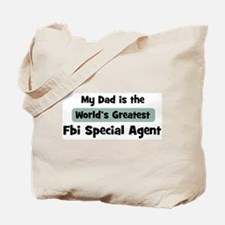 Worlds Greatest Fbi Special A Tote Bag