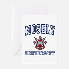 MOSELY University Greeting Cards (Pk of 10)